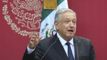 El presidente de México revela que encontraron una cámara espía en el Palacio Nacional