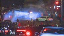 Cientos de personas toman las calles de San Francisco para realizar 'sideshows' sin ninguna consecuencia