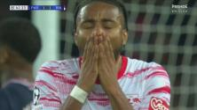 ¡Sí, laméntate, Nkunku! Leipzig deja ir el gol de la voltereta ante PSG