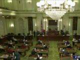 Colegio Electoral en California vota por el presidente electo Joe Biden