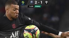 El PSG sufre para sacar el triunfo al Angers sin Lionel Messi