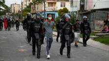 Cuba anuncia condenas de hasta 20 años de cárcel para los manifestantes arrestados tras las protestas en la isla