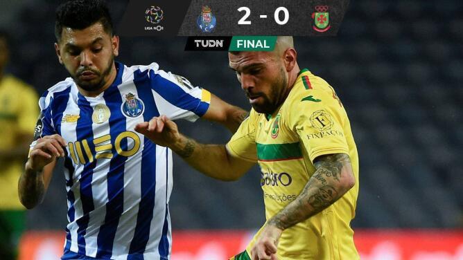Porto y Tecatito no tiran la toalla por el título