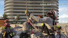 Aumenta el número de víctimas mortales de Surfside mientras continúan las labores para remover escombros en Miami