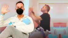 """Carlos Calderón se transforma en """"arquitecto"""" para darle el cuarto de sus sueños a su bebé recién nacido"""
