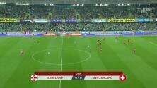 Resumen del partido Irlanda del Norte vs Suiza
