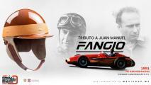 El GP de México entregará un casco especial de Fangio al ganador de la pole