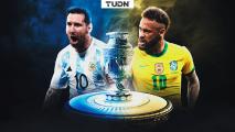 ¡Neymar y Messi por la gloria en la Copa América!