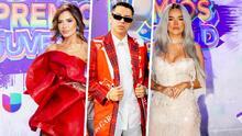 """""""No fue su mejor noche"""": dice nuestro experto al ver los looks de Karol G, Gloria Trevi y Grupo Firme en PJ"""