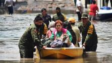 Históricas lluvias e inundaciones en México dejan al menos 17 personas muertas en un hospital