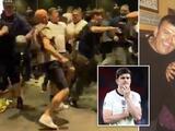 El padre de Harry  Maguire sufrió daños en las costillas en el caos de Wembley