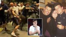 Padre de Harry Maguire sufrió daños en las costillas en el caos de Wembley