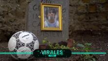 "La pelota ""agradece"" y rinde homenaje a Maradona"