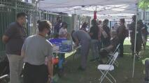 Realizan un evento para vacunar contra el coronavirus a desamparados en Los Ángeles: esto debes saber