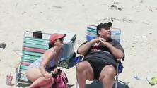Polémica por presencia del gobernador de Nueva Jersey en playa donde él mismo ordenó el cierre al público