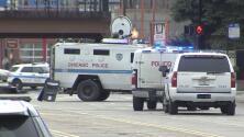 Se registra actividad policial y calles acordonadas en los alrededores del vecindario de Hermosa