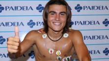 Luka Romero se unió a la concentración de Lazio