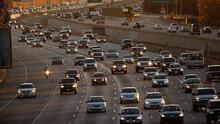 Se reporta tráfico vehicular ligero sobre la I-405 en Los Ángeles la mañana de este viernes