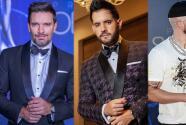 Julián Gil, Yandel, Manny Cruz y Johnny Ventura desfilaron por la alfombra roja de Premios Soberano