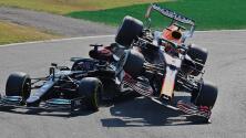 Drama en la pista: Lewis Hamilton y Max Verstappen protagonizan aparatoso accidente en el Gran Premio de Italia