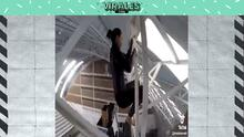 Sin límites: clavadista mexicana se lanza desde el techo