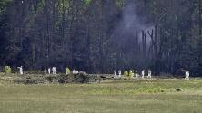 A las 10:03 am, el vuelo 93 se estrella en un campo en Pennsylvania: murieron los 33 pasajeros y siete tripulantes