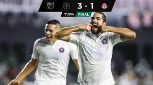 ¡Sonríe Miami! Pizarro luce con par de golazos en triunfo de Inter Miami
