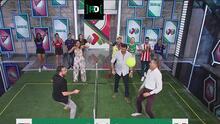 ¡Pone en alto a la Liga MX! Félix Fernández vence a Ramses en fut-tenis