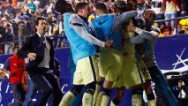 A lo Guardiola… El efusivo festejo de Solari por el golazo de Roger