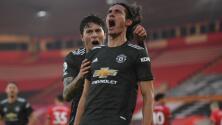 Manchester United no quiere a arriesgar a Edinson Cavani a sus 33 años de edad