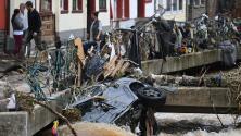 Reportan unos 120 muertos y más de 1,000 desaparecidos por inundaciones en Alemania y Bélgica