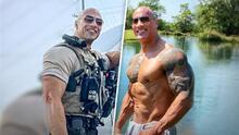 El parecido de este policía con Dwyane Johnson es tan asombroso que hasta 'The Rock' se sorprendió
