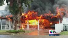 Incendio mortal en Stockton