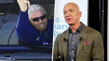 Jeff Bezos asegura que el viaje de Richard Branson no fue un vuelo espacial