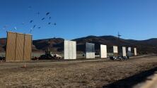 Inician las pruebas para decidir qué prototipo de muro sería construido en la frontera de EEUU