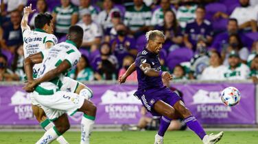 'Los Leones' de Orlando lamentan las ocasiones perdidas ante Santos