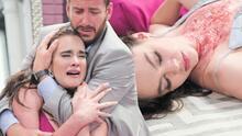 Nora murió frente a los ojos de Valentina tras usar un vestido envenenado