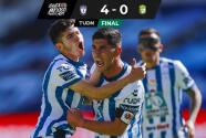 ¡Arrancan el Grita México A21 con una goleada! Pachuca doblega 4-0 a León