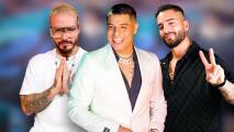 No solo J Balvin es fan de Eduin Caz: el cantante de Grupo Firme alucina con el mensaje que le envió Maluma