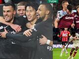West Ham mantiene paso perfecto; Eintracht goleó y PSV cayó