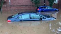 Bajo el agua: así quedaron sectores de Filadelfia tras el paso de Ida