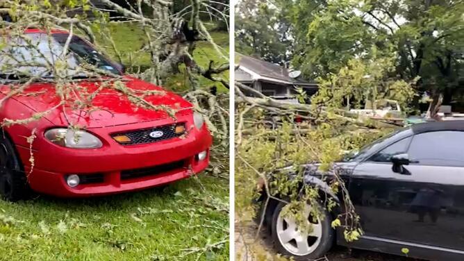 Repórtalo Houston: residentes afectados comparten imágenes de los daños tras el huracán Nicholas