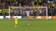 ¡GOL!  anota para Villarreal. Juan Foyth