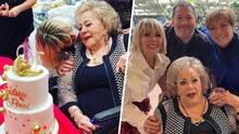 Silvia Pinal dice tener novio en la celebración de su cumpleaños #90