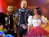 El momento inolvidable en el que Pepe, Ángela y Leonardo Aguilar juntaron sus voces en Premios Juventud