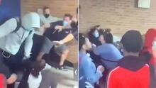 Caos en una secundaria de NYC: estudiantes son captados en medio de violenta pelea