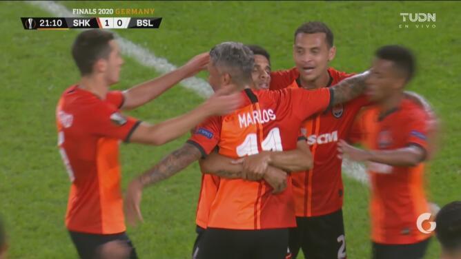 ¡Llega el 2-0! Shakhtar amplía el marcador con remate de Taison