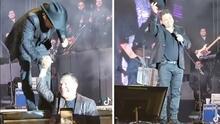 Julión Álvarez rinde homenaje en tarima a Julio César Chávez durante concierto en Tijuana