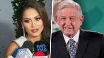 Andrea Meza, Miss Universo 2020, aún no sabe cuándo se reunirá con Andrés Manuel López Obrador