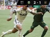 Chicho sigue encendido con LAFC pero Portland se llevó el triunfo